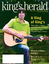 (image: King's Herald Fall 2004)