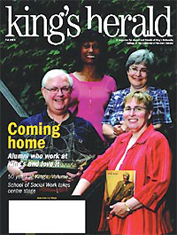 (image: King's Herald Fall 2005)