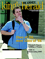 (image: King's Herald Fall 2006)