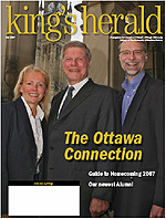 (image: King's Herald Fall 2007)