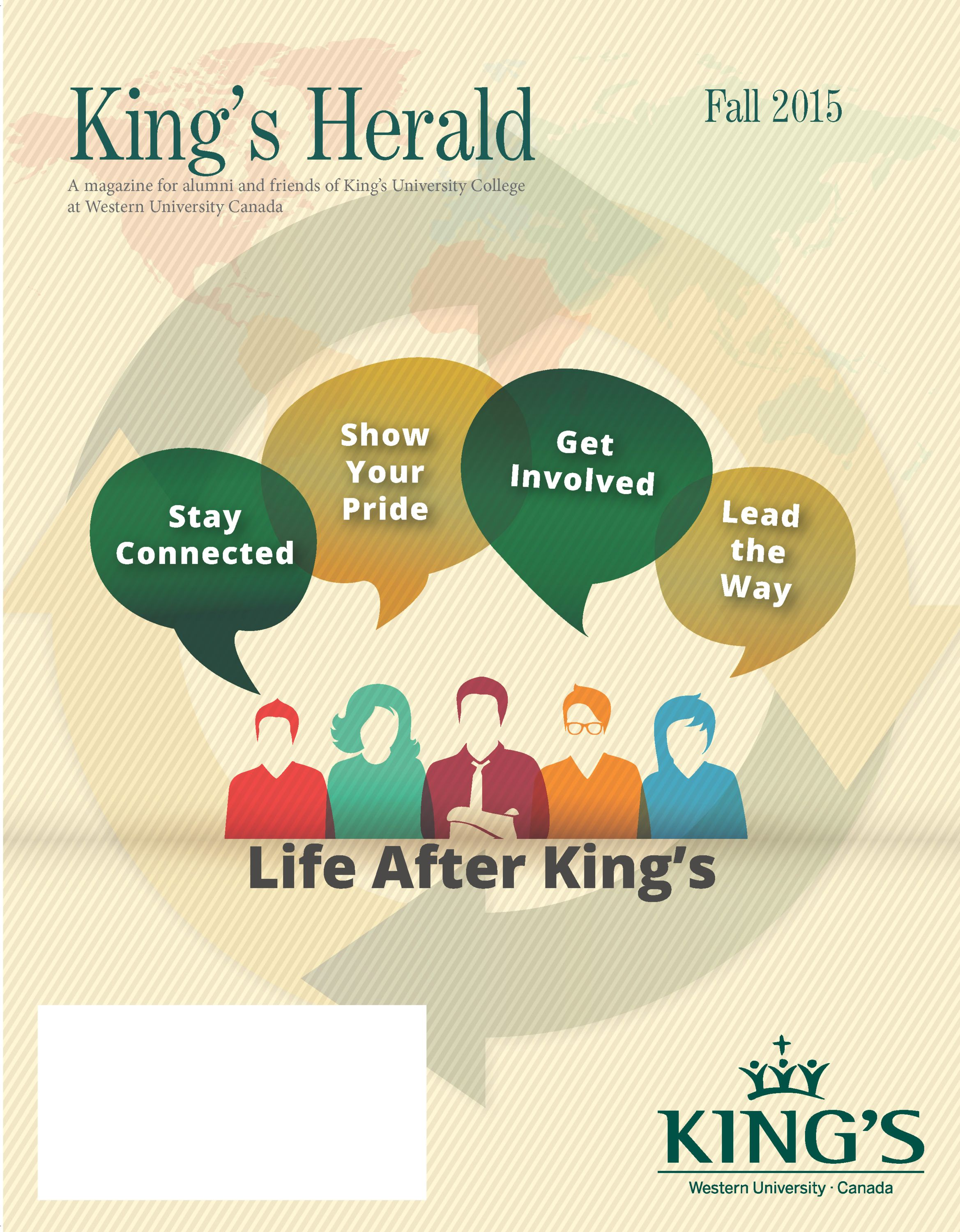(image: King's Herald Fall 2015)