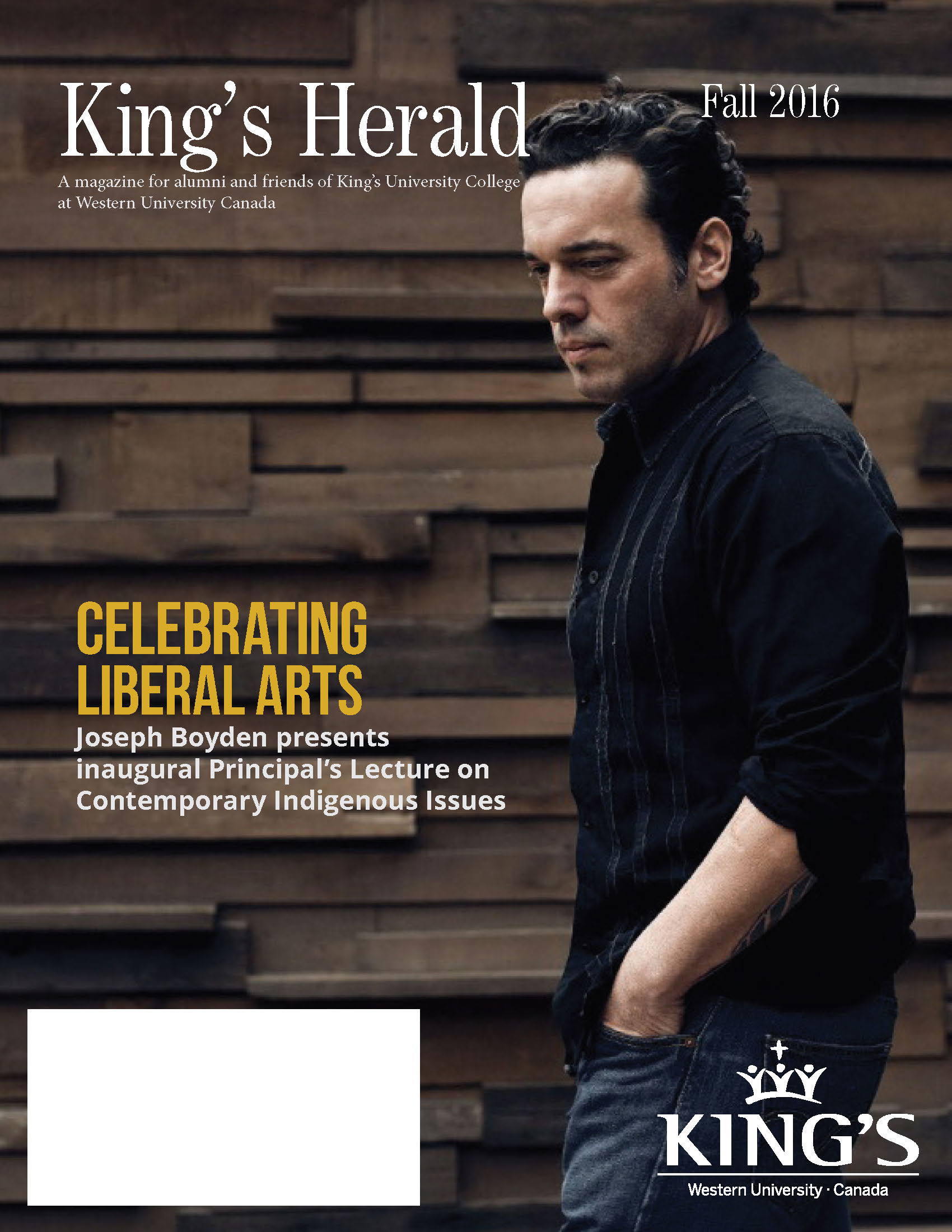 (image: King's Herald Fall 2016)