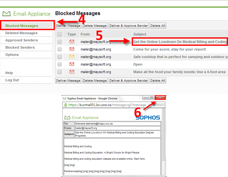 (image: view blocked message in Sophos)