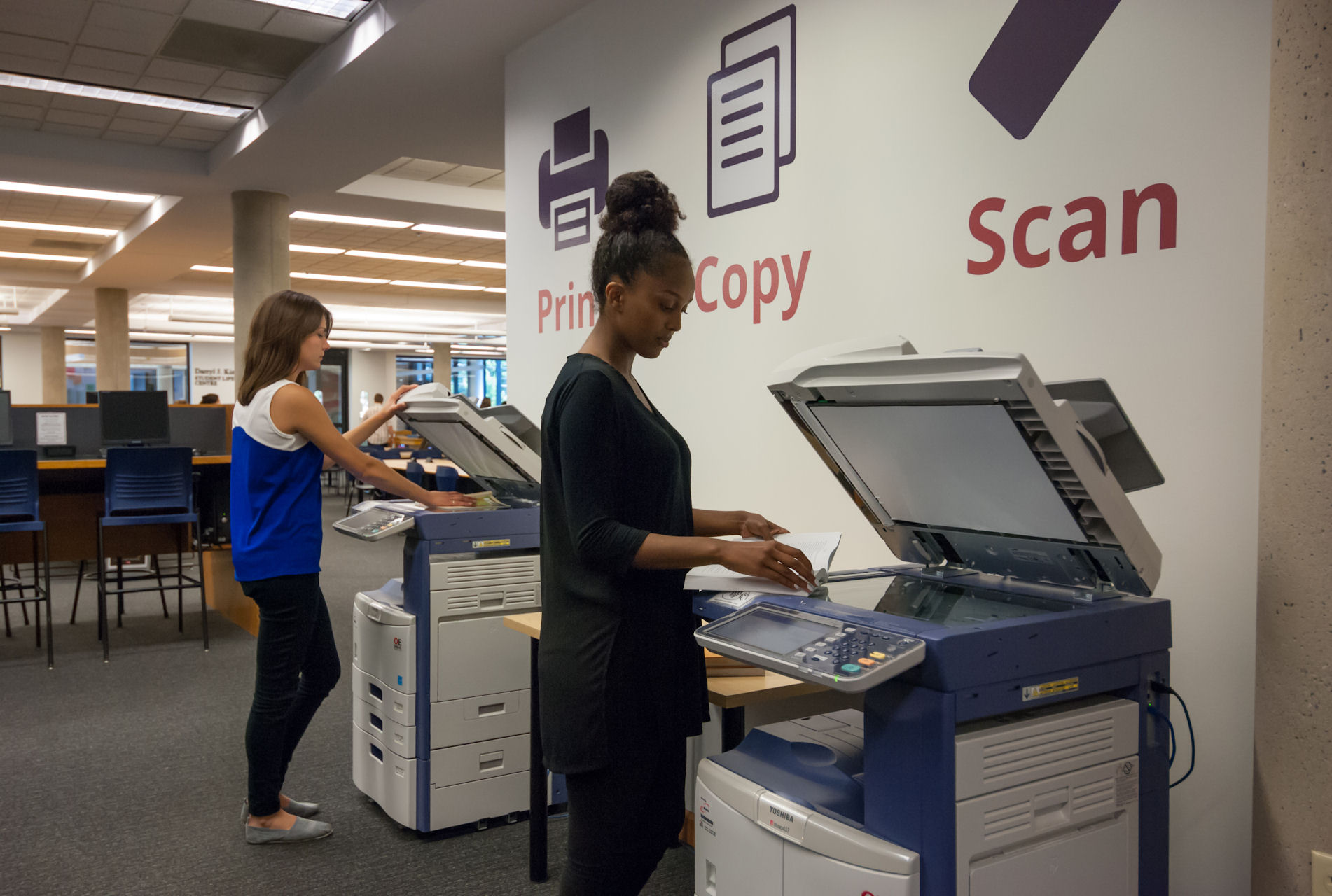 Image: photocopy machines