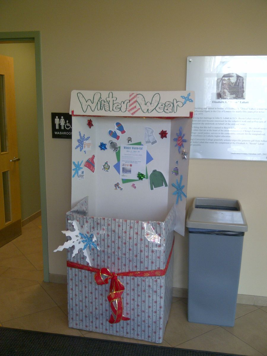 SAC donation box