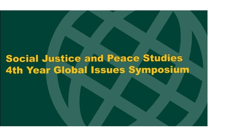 SJPS 4th Year Symposium