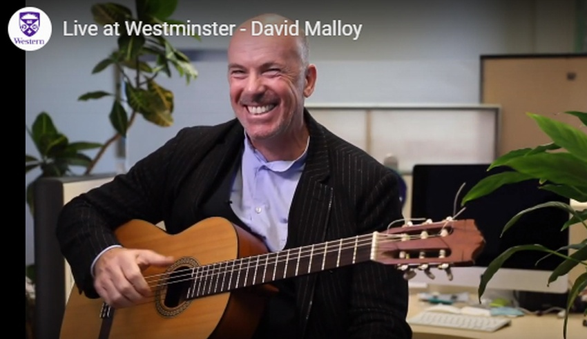 Dr. Malloy featured on Live from Westminster
