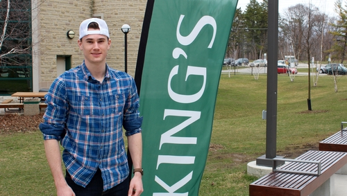 King's Student-Athlete Riley Bell wins gold medal at national championships