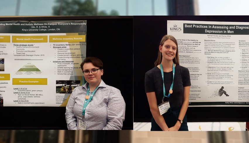 Students, faculty present work at CMHA Conference
