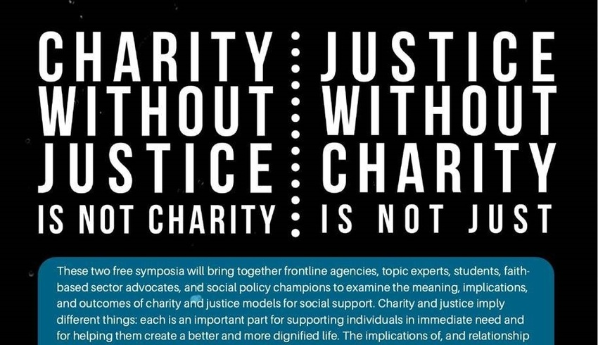 Charity and Justice Symposium