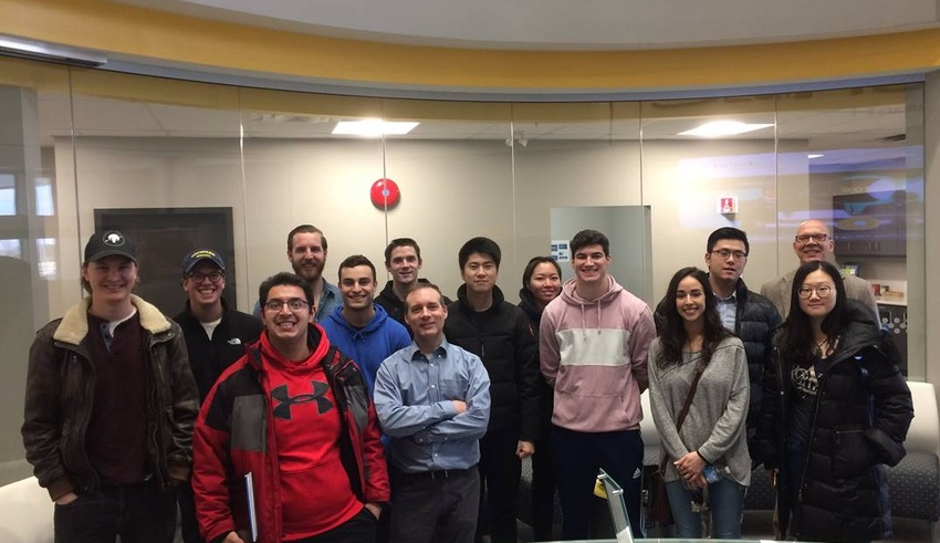 Management and Organizational Studies students visit international electronics manufacturer