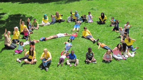 Children of Jewish, Muslim and Christian faiths gather for Peace Camp at King's