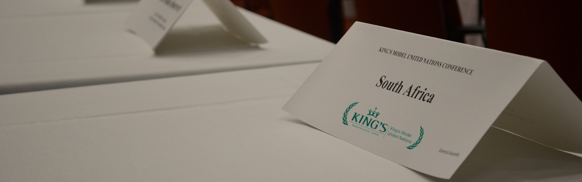King's Model United Nations (KMUN)