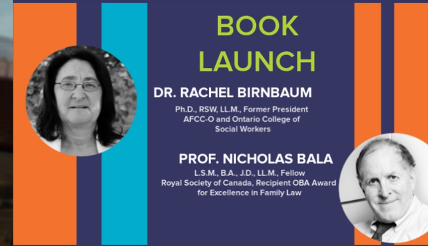Dr. Rachel Birnbaum honoured with book launch at conference