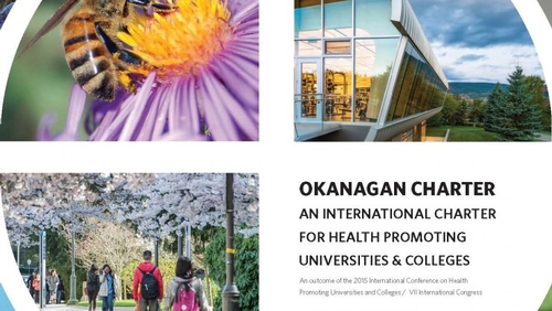 King's signs Okanagan Charter for health & wellbeing promotion on campus
