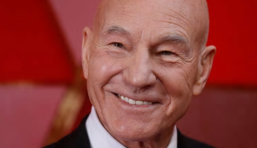 Patrick Stewart gives Shakespearean shout out to King's professor