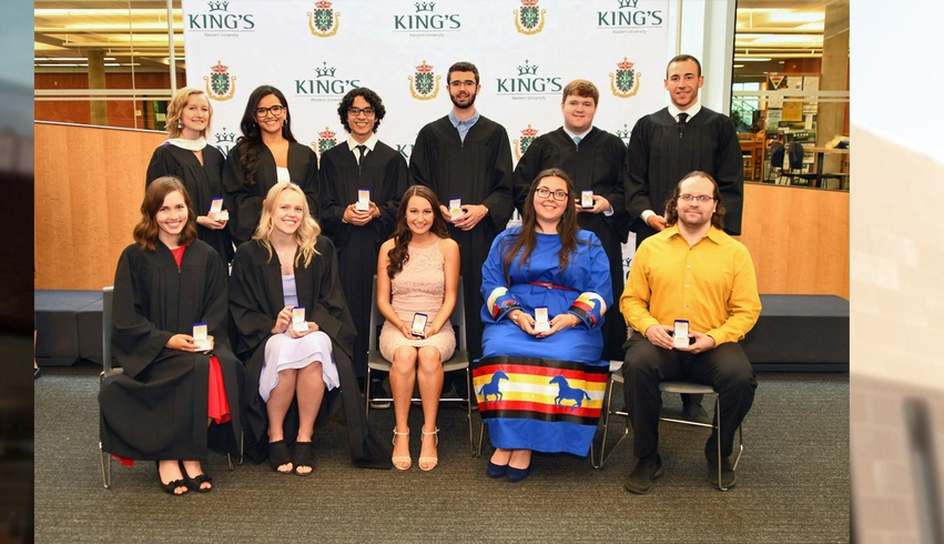 King's celebrates gold medal award winners