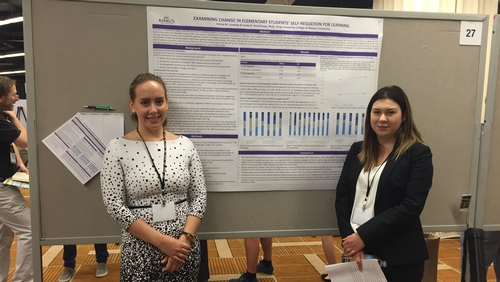 Psychology students exhibit at the Association for Psychological Science