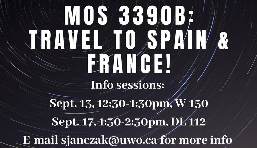 MOS - Barcelona & Toulouse Info Sessions