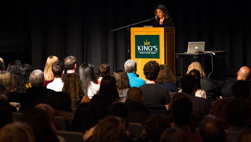 Naomi Klein talks about Trudeau, Trump and the environment at King's