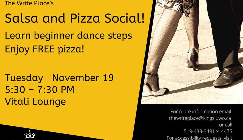 Salsa and Pizza Social