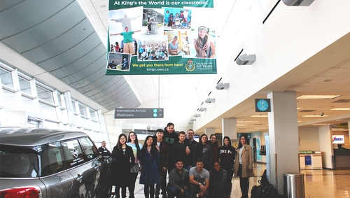 MOS students head out on trip to Europe