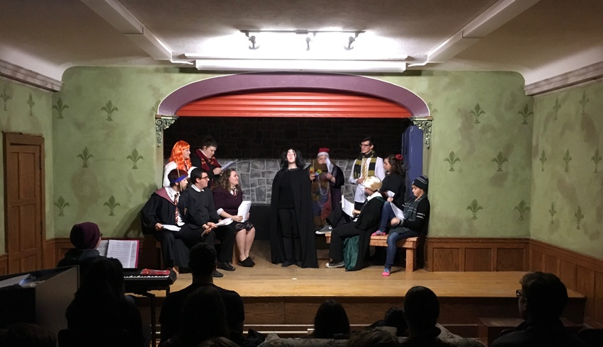 Theatre club brings the stage to students