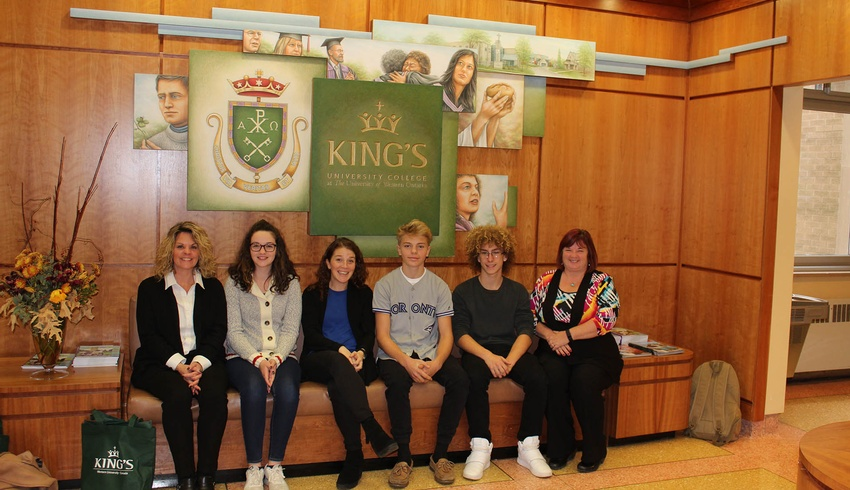 King's is proud to participate in Take Our Kids to Work Day