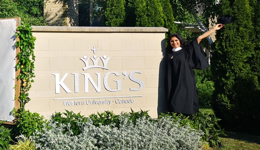 King's celebrates graduates in class of 2020