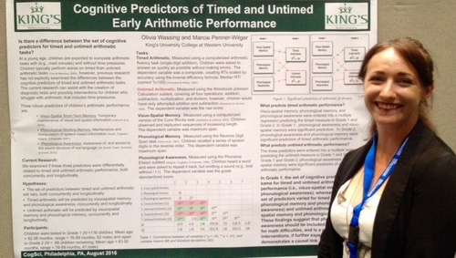 King's grad presents at Cognitive Science Conference