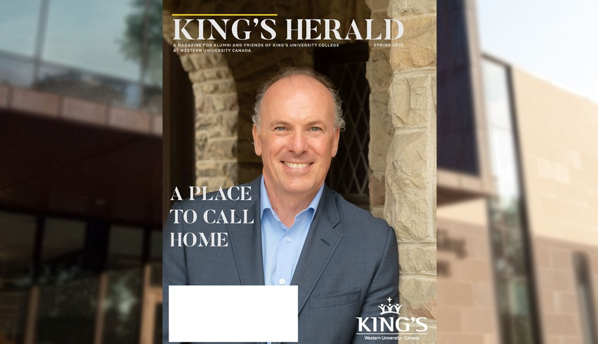 King's Herald comes home