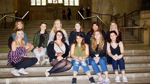 King's students study childhood social institutions in England