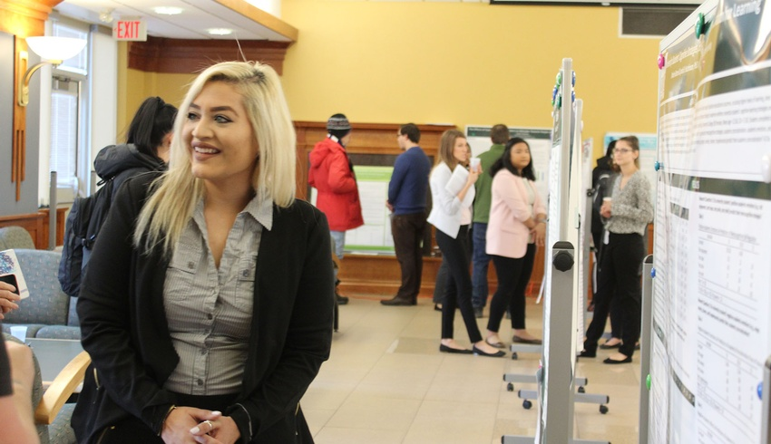 Fourth-Year Psychology students present their research