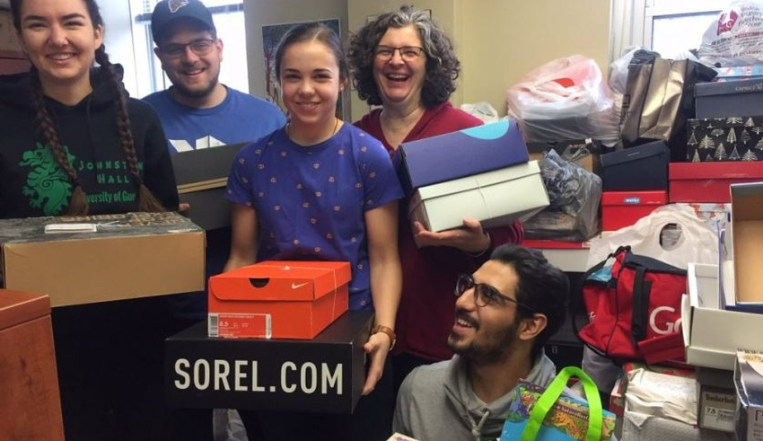King's Campus Ministry shoebox campaign brings moment of joy