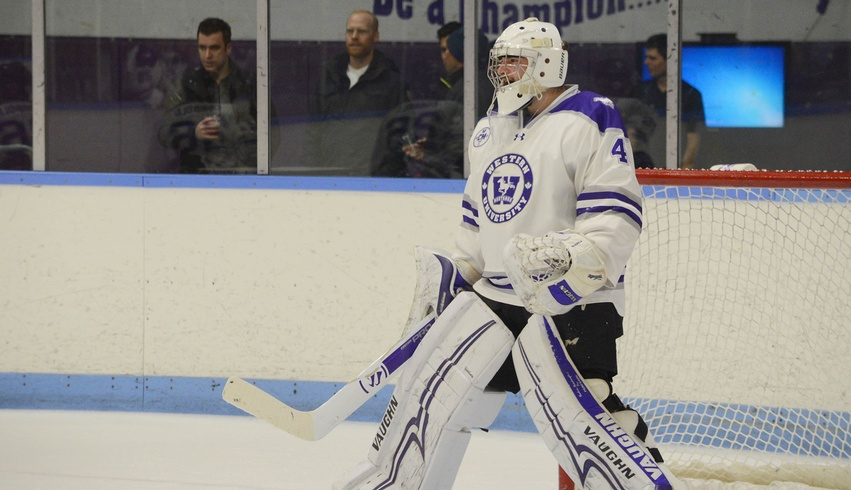 King's student and Mustangs' goaltender makes 27 saves