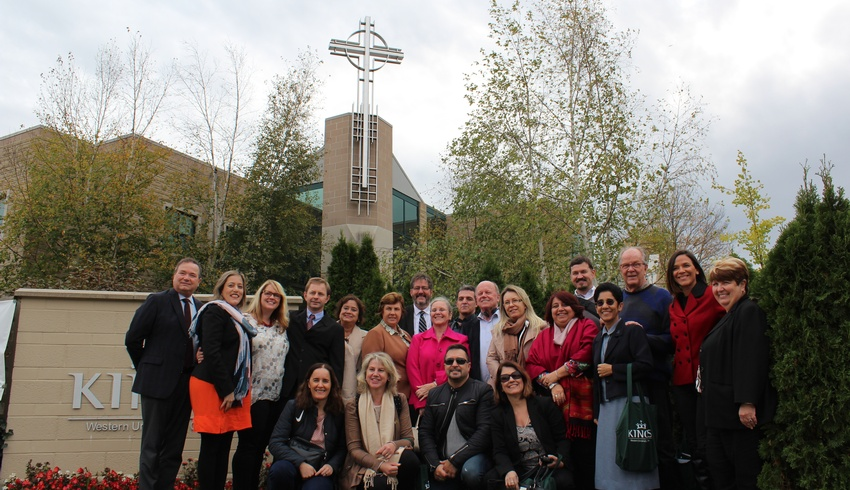 Brazilian educational leaders welcomed to campus