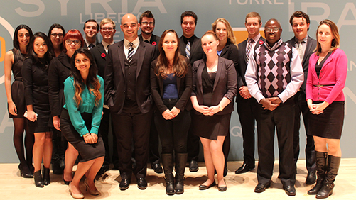 King's students attend Munk Debate on Obama's foreign policy