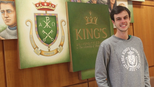 Congratulations to newly elected KUCSC president, Nathan Little