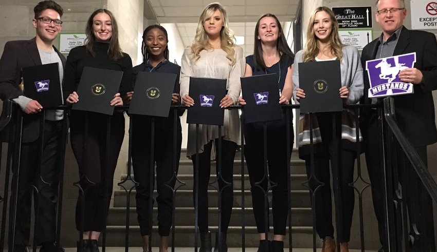 Student-Athletes Honoured