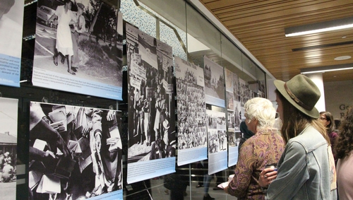 Dispossessed, but Defiant: An Exposition of Rare Photos exhibit at King's