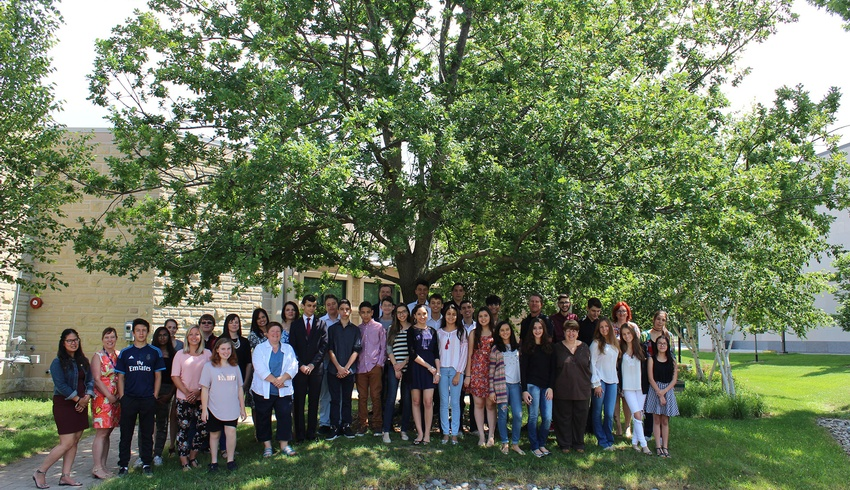 Students from Brazil attend Canadian Summer Experience Program