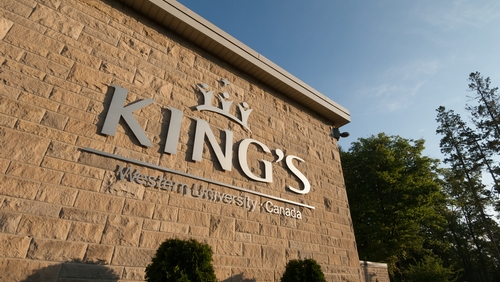 Image result for king's university""