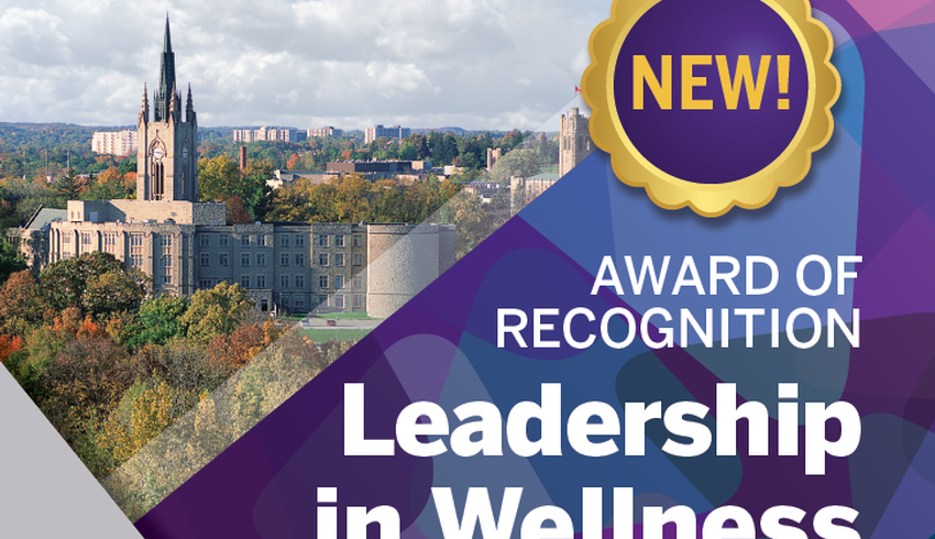 Wellness award recognizes faculty who promote student mental health