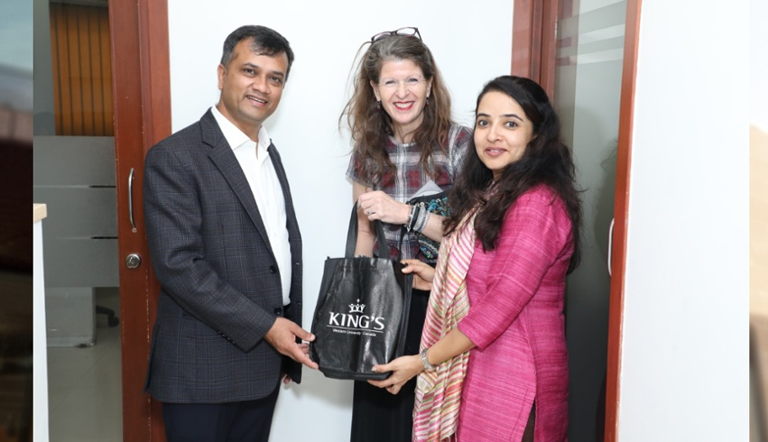 School of MEM lecturer presented on trademark and copyright law in India