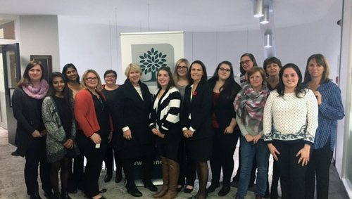 King's mentees spend an afternoon with Deputy Premier Deb Matthews
