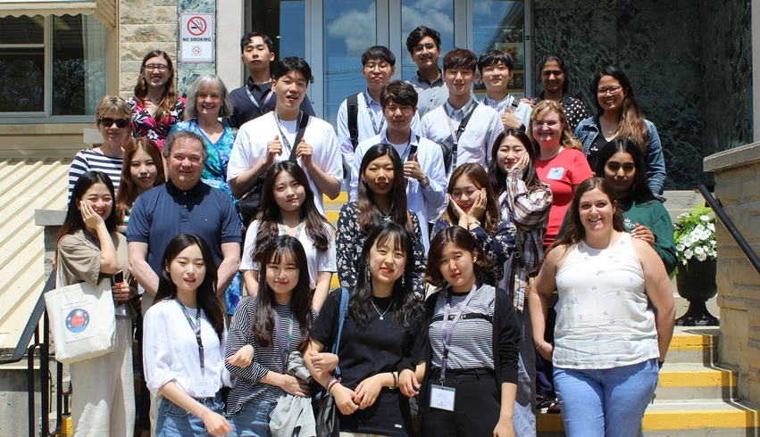 King's welcomes Kangnam University students