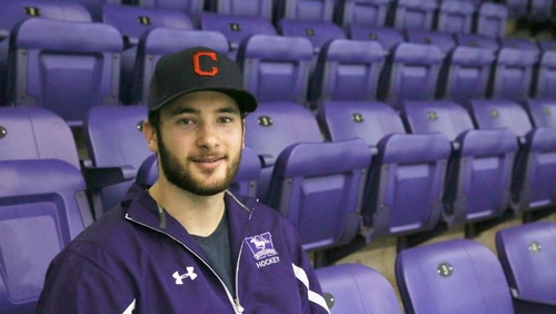 King's student and star goalie starts with the Western Mustangs men's hockey team